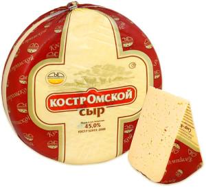 Костромской брасовский сыр оптом
