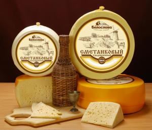 Сметанковый сыр Белослава оптом