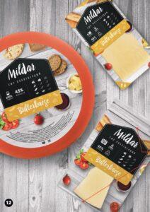 Сыр Butterkaese Милдар купить оптом